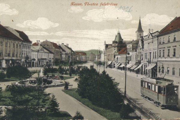 Pohľad na hornú časť Hlavnej ulice.