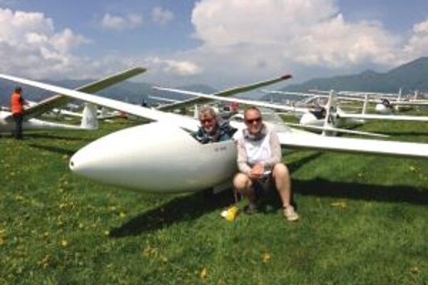 Aj Agnete Olsen z Dánska rada lieta ponad naše hory.