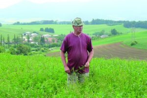 Stanislav Jesenský verí, že už tento týždeň výjdu do poľa.