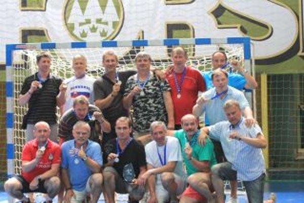 Martinskí veteraní získali na európskom šampionáte striebro.