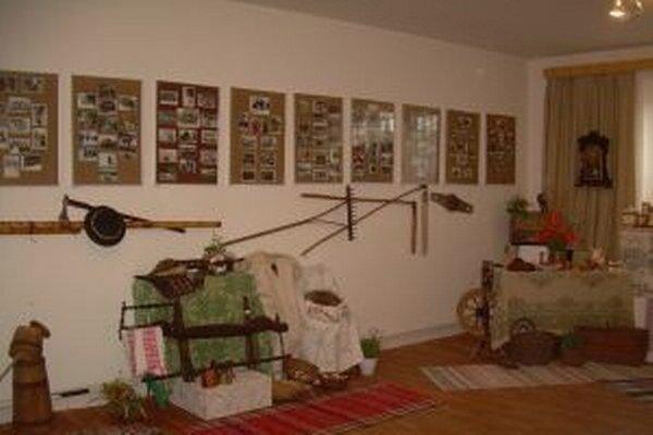 Oslavy obce boli aj príležitosťou pre zriadenie Izby spomienok.