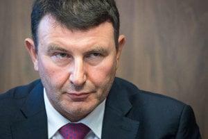 odchadzajúci šéf Finančnej správy František Imrecze.