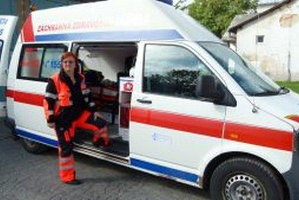 Anna Vargová nikdy neoľutovala, že sa stala záchranárkou.