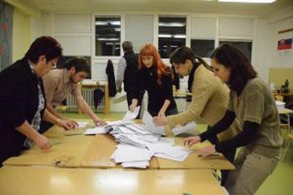 Komisie sa púšťajú do sčítavania hlasov.