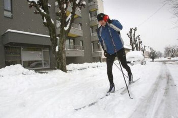 Počas tejto zimy si rekreační bežkári zatiaľ veľa radosti neužili.
