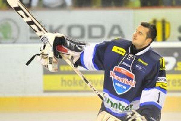 Jakub Čech si v Martine rýchlo získal dôveru hokejovej verejnosti.