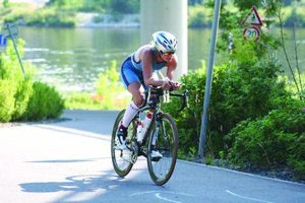 Kristína Lapinová je druhou najlepšou triatlonistkou Slovenska za rok 2010.
