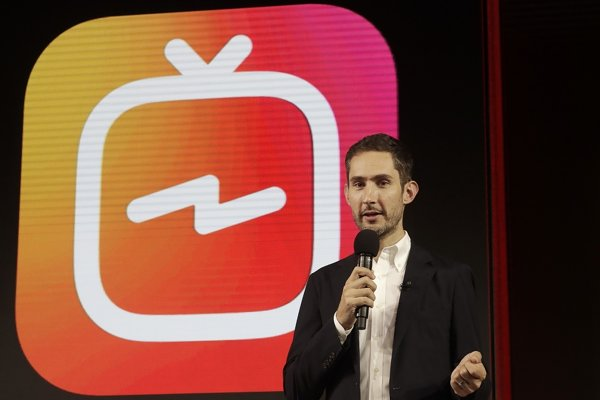 Spoluzakladateľ sociálne siete na zdieľanie fotiek Instagram Kevin Systrom.
