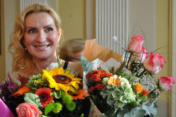 Reštaurátorka Lívia Šumichrastová.