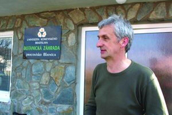 Ján Topercer, odborník na ekológiu z Botanickej záhrady Univerzity Komenského v Blatnici.
