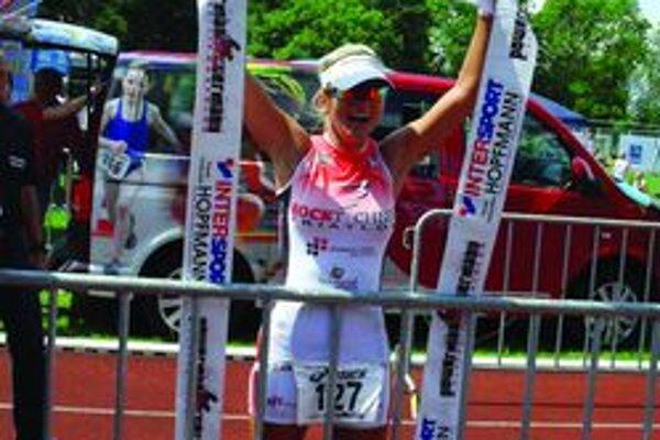 Kristína Lapinová mala po pretekoch v Nemecku obrovský dôvod na radosť.
