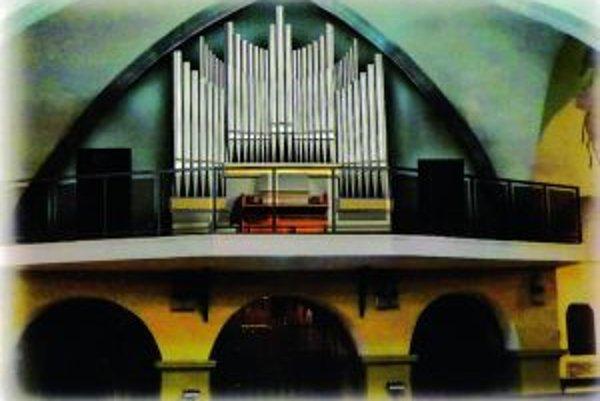 Nový organ v Kostole sv. Martina.