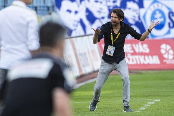 Peter Hyballa, tréner Dunajskej Stredy.