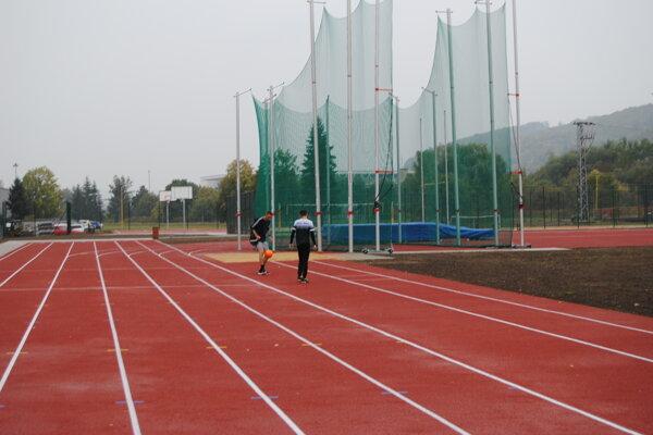Nový športový komplex v Prešove.