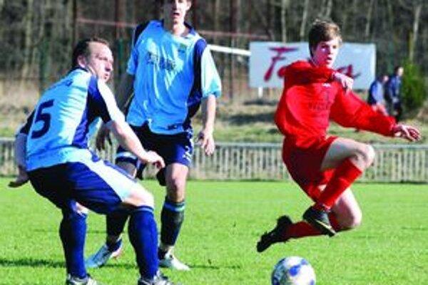 Mladý Tkaczik sa chytil svojej šance. Prsty mal v troch góloch, jeden aj dal.