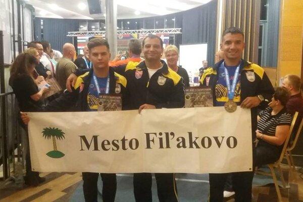Zľava Krisztián Deme, František Sajko a Csaba Péter.