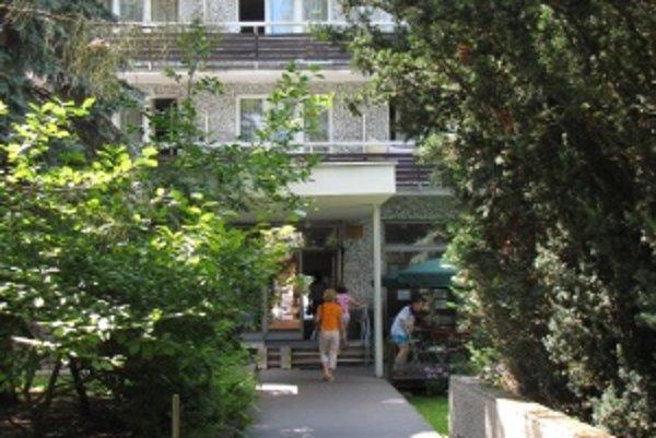 Liečebný dom Aqua. Dvojhviezdičkový liečebný dom si vyhliadli zlodeji.