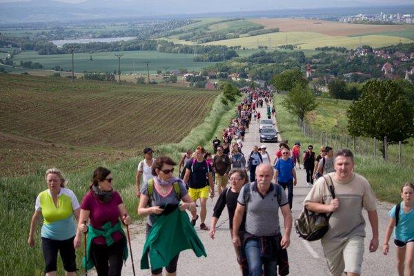 V obci sa už niekoľko rokov koná Sobotištská pätnástka.