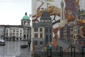 Do niektorých opustených budov sa nasťahovali umelci.