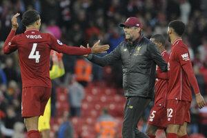 Futbalisti Liverpoolu mohli byť napokon za remízu vďační.
