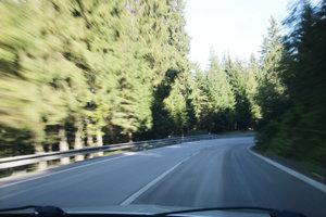 Na horskom priechode musia byť vodiči mimoriadne ostražití.