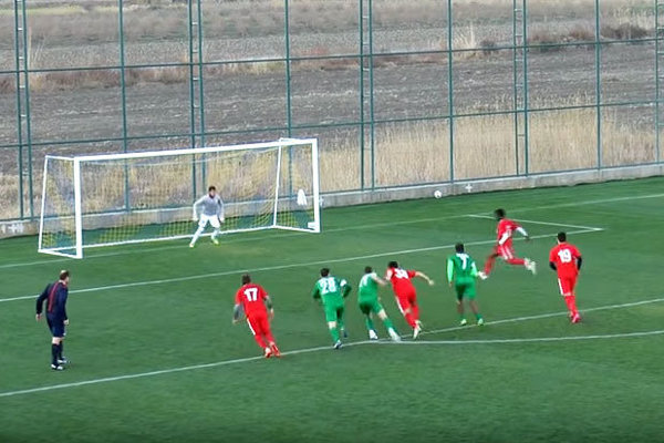 Skóre zápasu otváral Bamba z jedenástky.