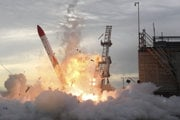Nehoda japonskej rakety MOMO-2 30. jún 2018.