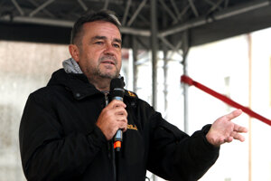 Jožo Pročko, jeden z moderátorov.