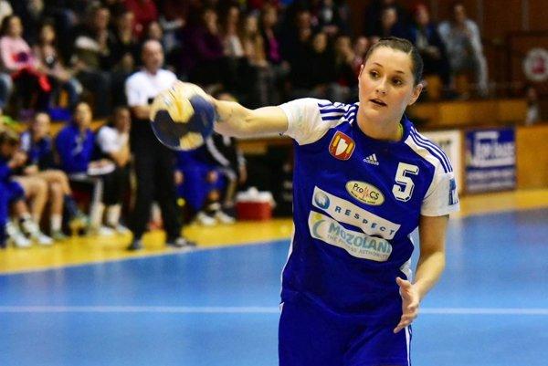 Lívia Klučková má v posledných zápasoch výbornú formu.