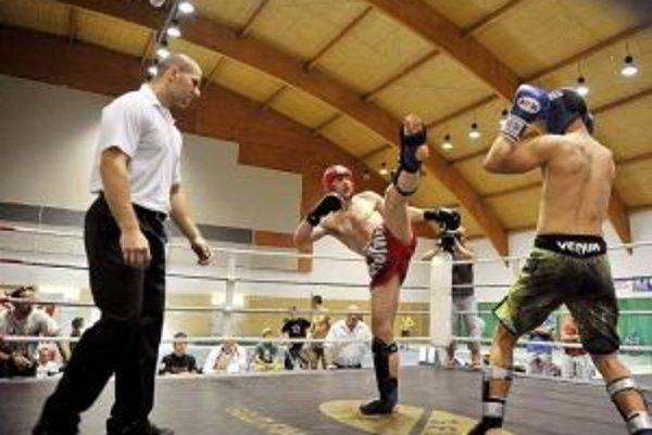 Mišún (vľavo) prehral až vo finále.