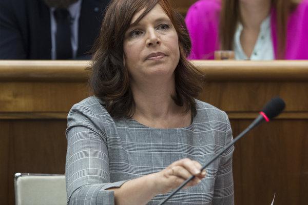 Poslankyňa NR SR Veronika Remišová.