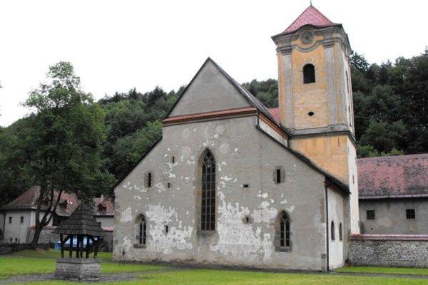 Kostol sv. Antona Pustovníka v Červenom Kláštore.