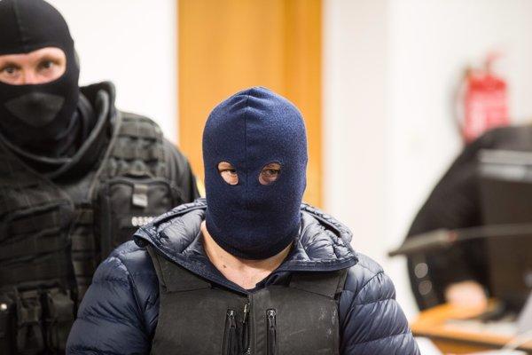 Zoltán Andruskó na súde.