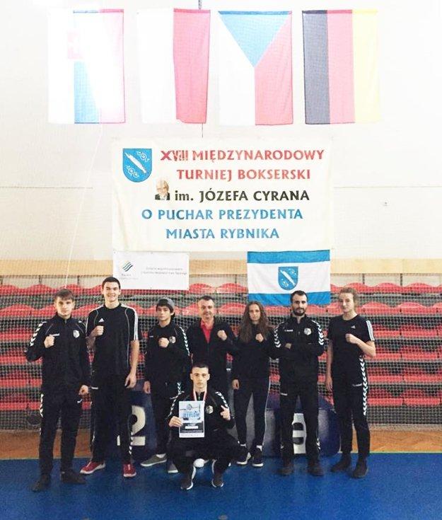 Nitrianski boxeri v Poľskom Rybniku.