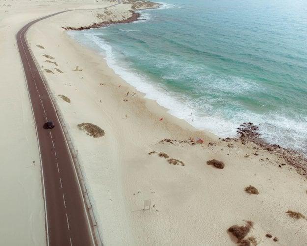 Cesta národným parkom Corralejo