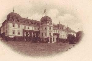 Šesť osobností sa stretlo na zámku v Lánoch pri spoločnom obede v roku 1922