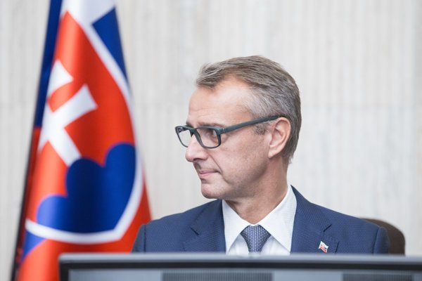 Podpredseda vlády SR pre investície a informatizáciu Richard Raši.