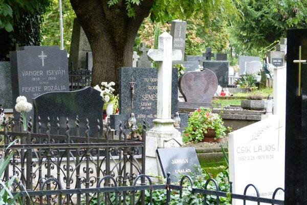 Levický cintorín.