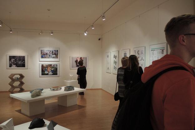 Výstava v Galérii Bazovského potrvá do 13. marca.