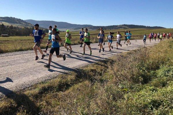 Na druhý ročník vybehla viac ako päťdesiatka bežcov.
