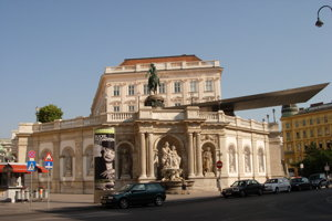 Viedenskú galériu Albertina založil v roku 1768 vojvoda Albert Saský a jeho žena Mária Kristína, štvrtá dcéra Márie Terézie.