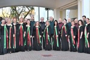 Martinský spevácky zbor Cantica Collegium musicum.