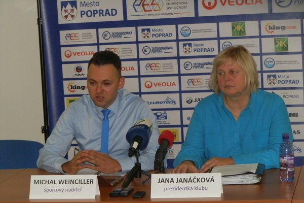M. Weinciller a J. Janáčková.