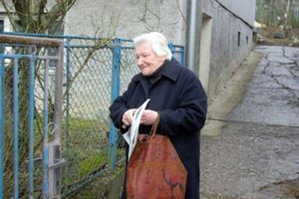 Výherkyňa nechcela uveriť, že aj na ňu sa usmialo šťastie. Dvadsať eur ju potešilo.