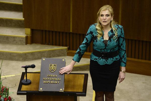 Bývalá primátorka Jana Vaľová.