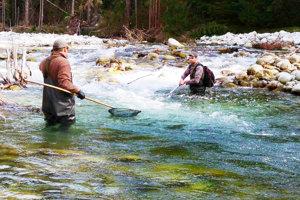 Na Belej robili rybári inventarizačný prieskum.