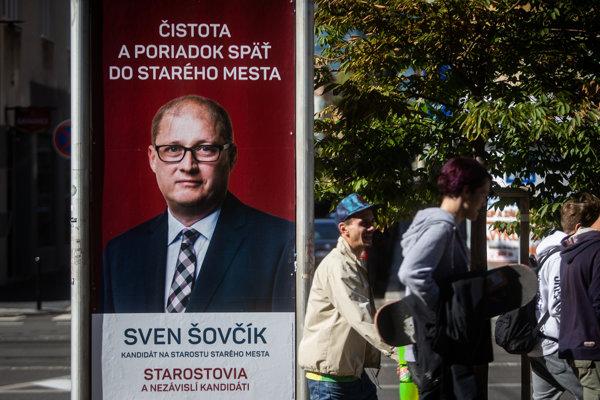 Sven Šovčík kandidovať nebude.