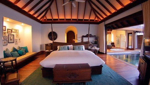 Luxusné ubytovanie na Maledivách ponúkne súkromný bazén i maséra na izbu.
