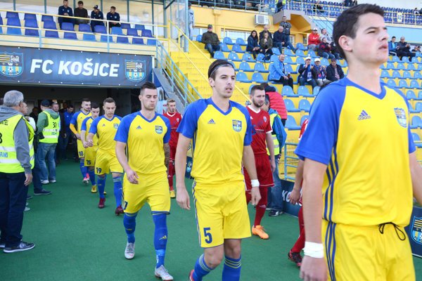 FC Košice zimujú s päťbodovým náskokom.