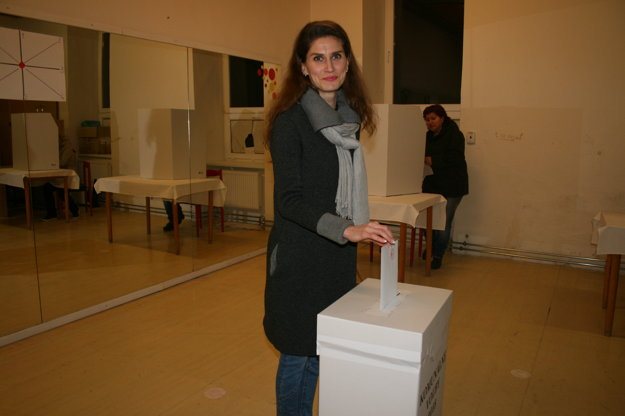 Voľby v Krompachoch.
